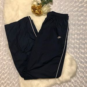 Navy Blue Nike Track Pants Size Large